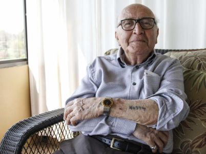 David Wolnerman, 88 of Des Moines, is one of the few remaining Holocaust survivors currently living in central Iowa. At the age of 13 he was taken from his home in Poland to Auschwitz where the number 160344 was tattooed on his arm, he was liberated from the Dachau concentration camp in 1945.